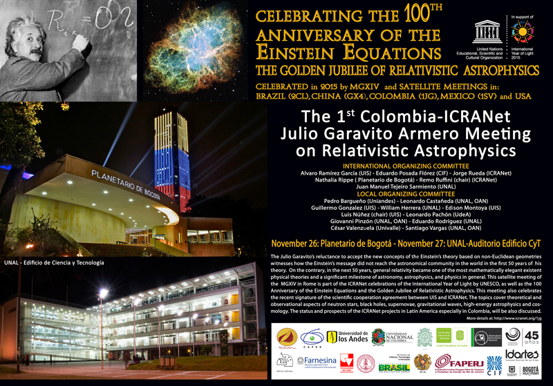 The 1st Colombia-ICRANet