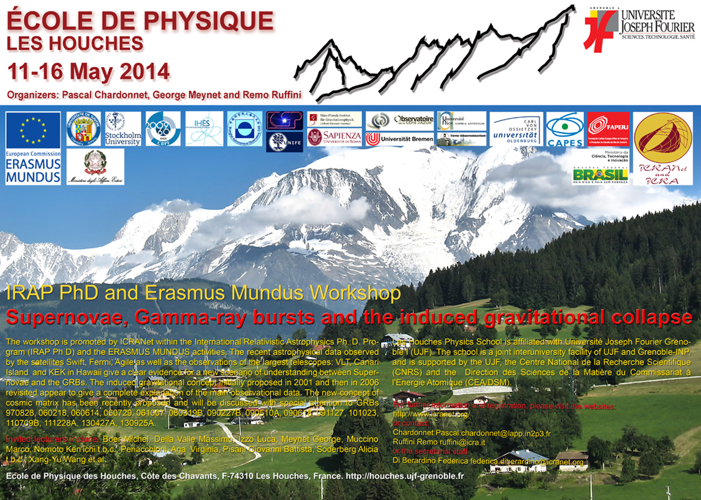 Les Houches 2014